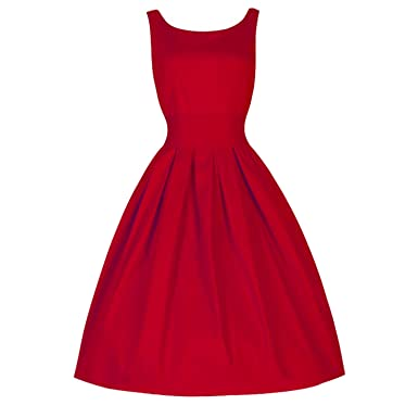 399241607d Image Unavailable. Image not available for. Color  better-caress 2018 New  Women Fashion Summer Dress Vintage Style Women 50 S Swing Retro Housewife