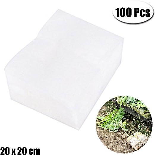 PartyYeah 100 bolsas biodegradables para guardería, no tejidas ...