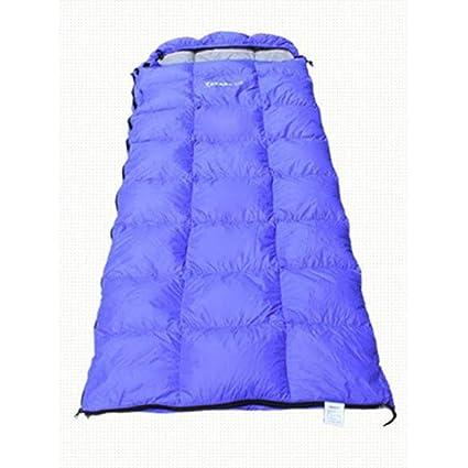Shiduoli Saco de Dormir de Pluma Blanca de 8 Grados Adecuado para Adultos y niños Acampar