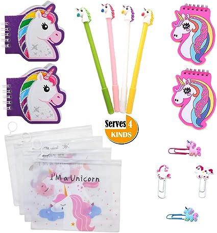 Amazon.com: Unicorn - Set de artículos de papelería para la ...