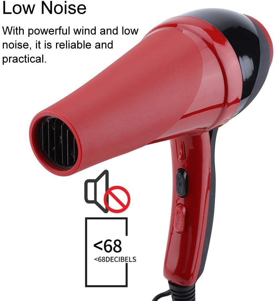 Asciugacapelli diffusore di ioni,3000W diffusore 3 livelli di temperatura, 2 velocità, asciugacapelli elettrico a temperatura costante potente