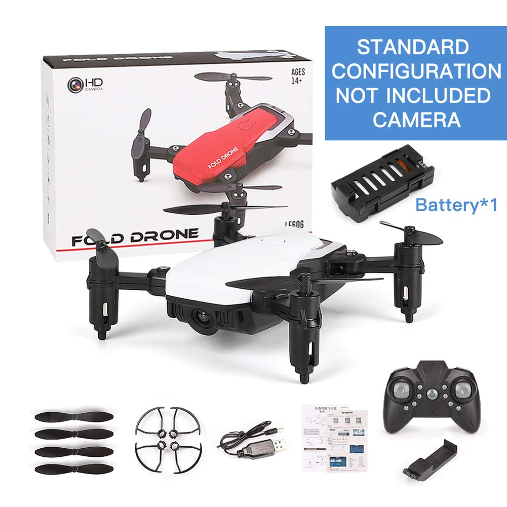 Aland-RC Hobby 2.4 GHz 4 Channels Gyro 360 Flip Folding Barometer Position Quadcopter - White Without Camera