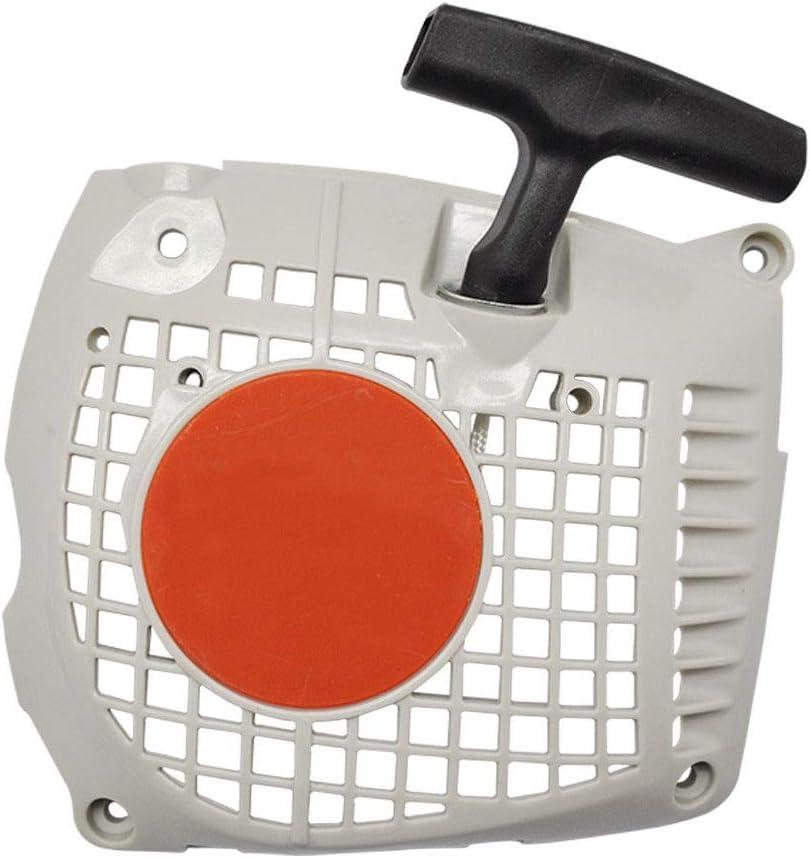 WANWU - Tirador de Arranque para Motosierra Stihl MS231 MS251 Pieza de Repuesto 1143 080 2103 1143 080 2107