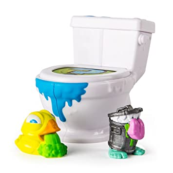 Spin Master Flush force WC 6037313, Baño con dos personajes