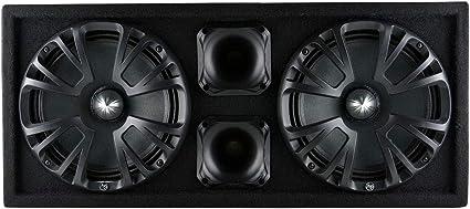 Audiopipe AP-CHULD-102 caja de subwoofer de audio para auto, doble sellado de 10 pulgadas: Amazon.es: Coche y moto