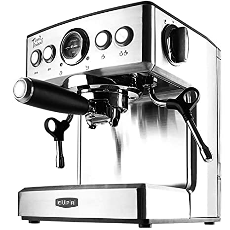 ZHJIUXING KF Fácil de Usar Cafetera Espresso, Depósito de 2.1l ...