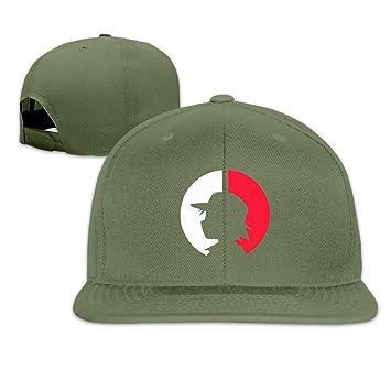 hmkolo bolsillo Monster algodón Flat Bill gorra de béisbol gorra ...