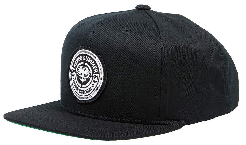 Never Summer Youth Bullet Eagle Patch Adjustable Snapback Hat