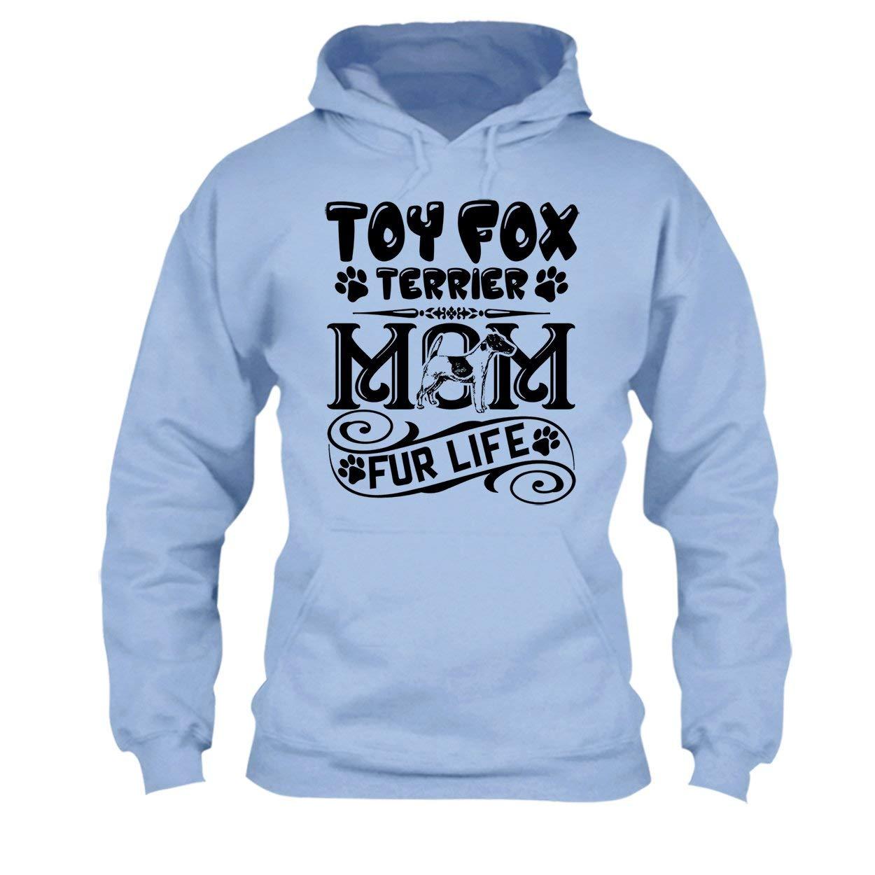 Clothing Toy Fox Terrier Mom Fur Life Shirt Tee Shirt