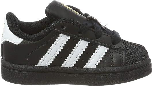 adidas Superstar, Baskets Mixte bébé, Noir (Core Black