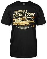 """T-Shirt Breaking Bad """"Heisenberg's Desert Tours"""""""