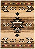 Rustic Lodge, Southwestern 2×8 Area Rug, 2'3″x7'7″ Multi 7611 For Sale