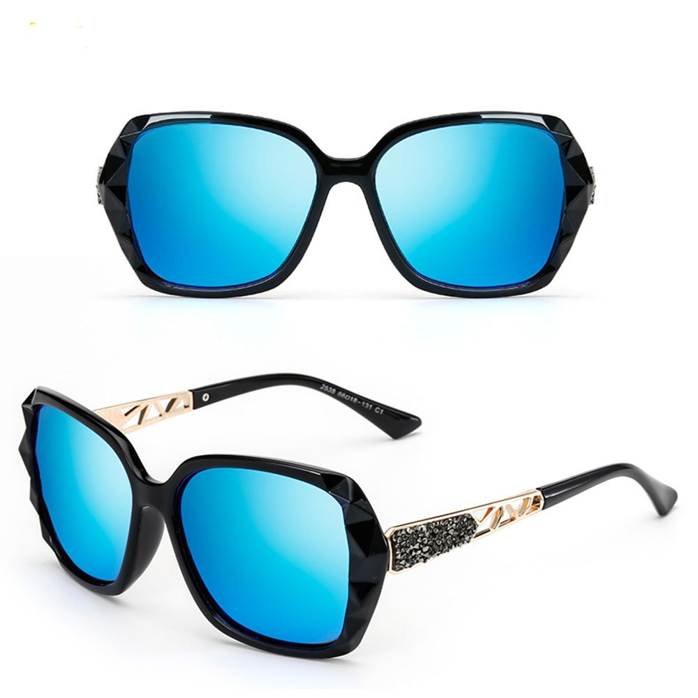 Korean new lady glasses high grade polarizer anti ultraviolet sun glasses