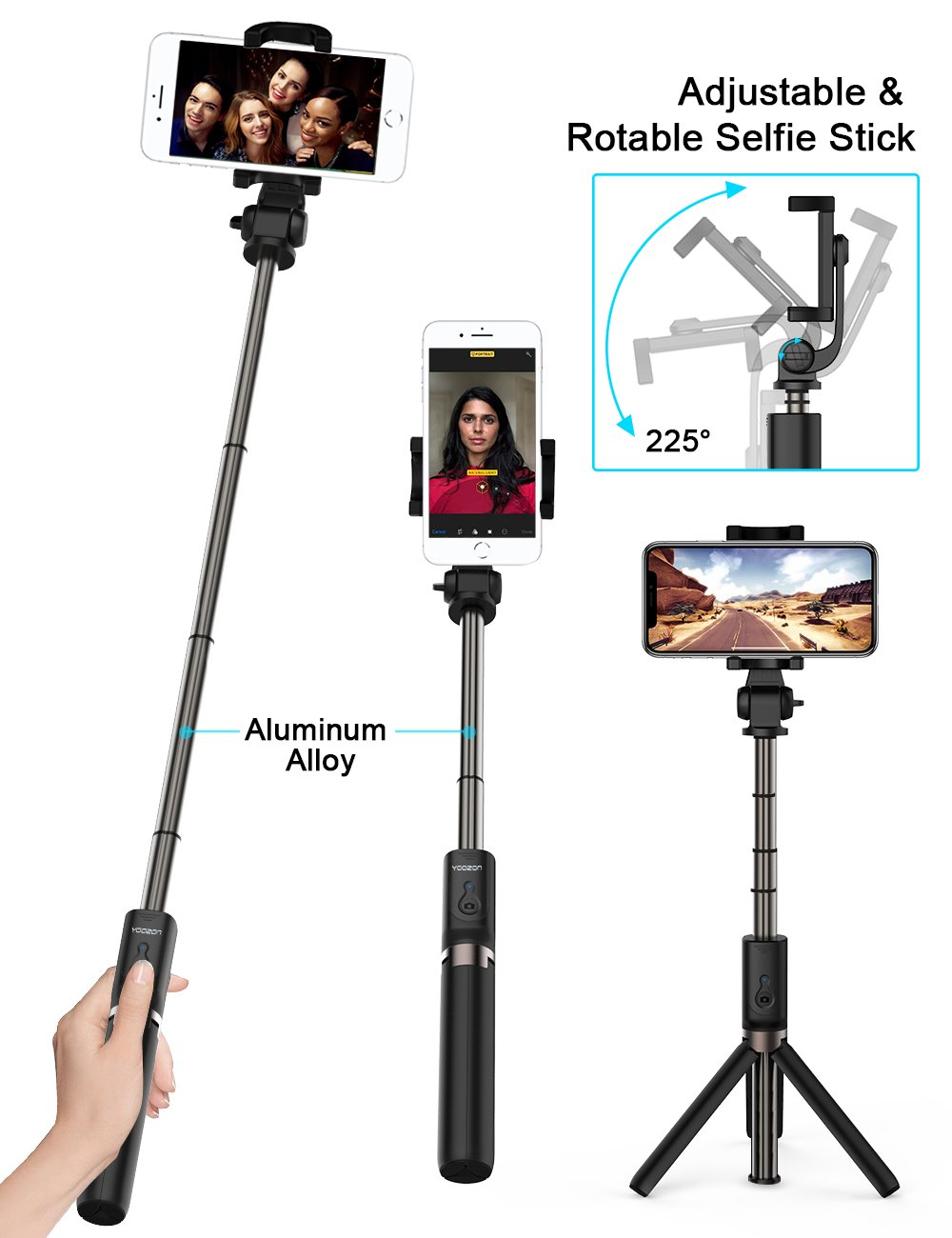 yoozon selfie stick - Durable