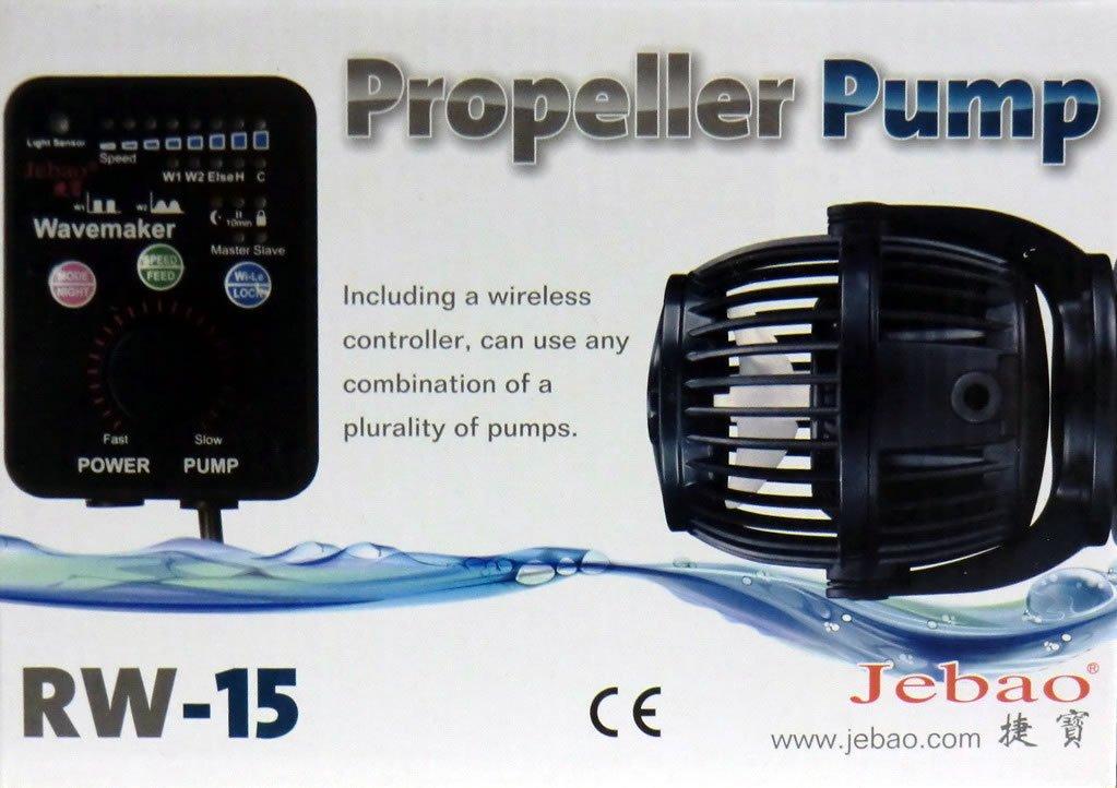 Jebao RW-15 mit Controller / 40Watt - 1200 - 15000 l/h