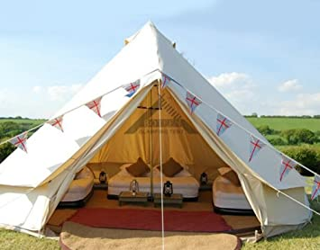 Amazon.com  Himalaya Bell Tent Stand Canvas Mongolian Yurts Outdoor Hotel Indian Luxury 8-12 Person Tent Perfect for Sel-draving Travel  Sports u0026 Outdoors & Amazon.com : Himalaya Bell Tent Stand Canvas Mongolian Yurts ...