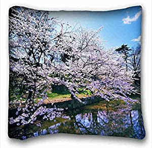 "Custom Cotton & Polyester Soft Animal DIY Pillow Cover Size 16""X16"" suitable for Twin-bed"