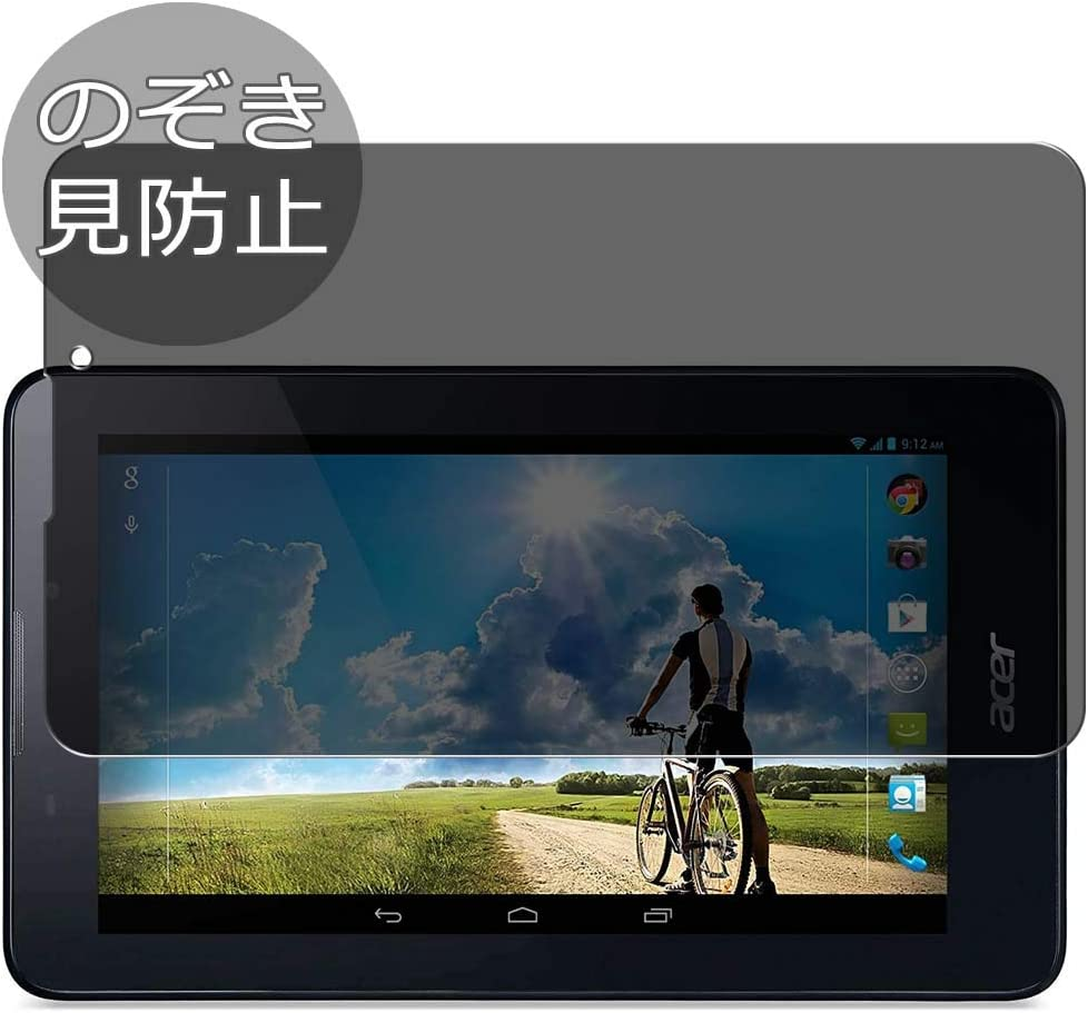 "Synvy Privacy Screen Protector Film for Acer iconia Tab 7"" A1-713 Anti Spy Protective Protectors [Not Tempered Glass]"