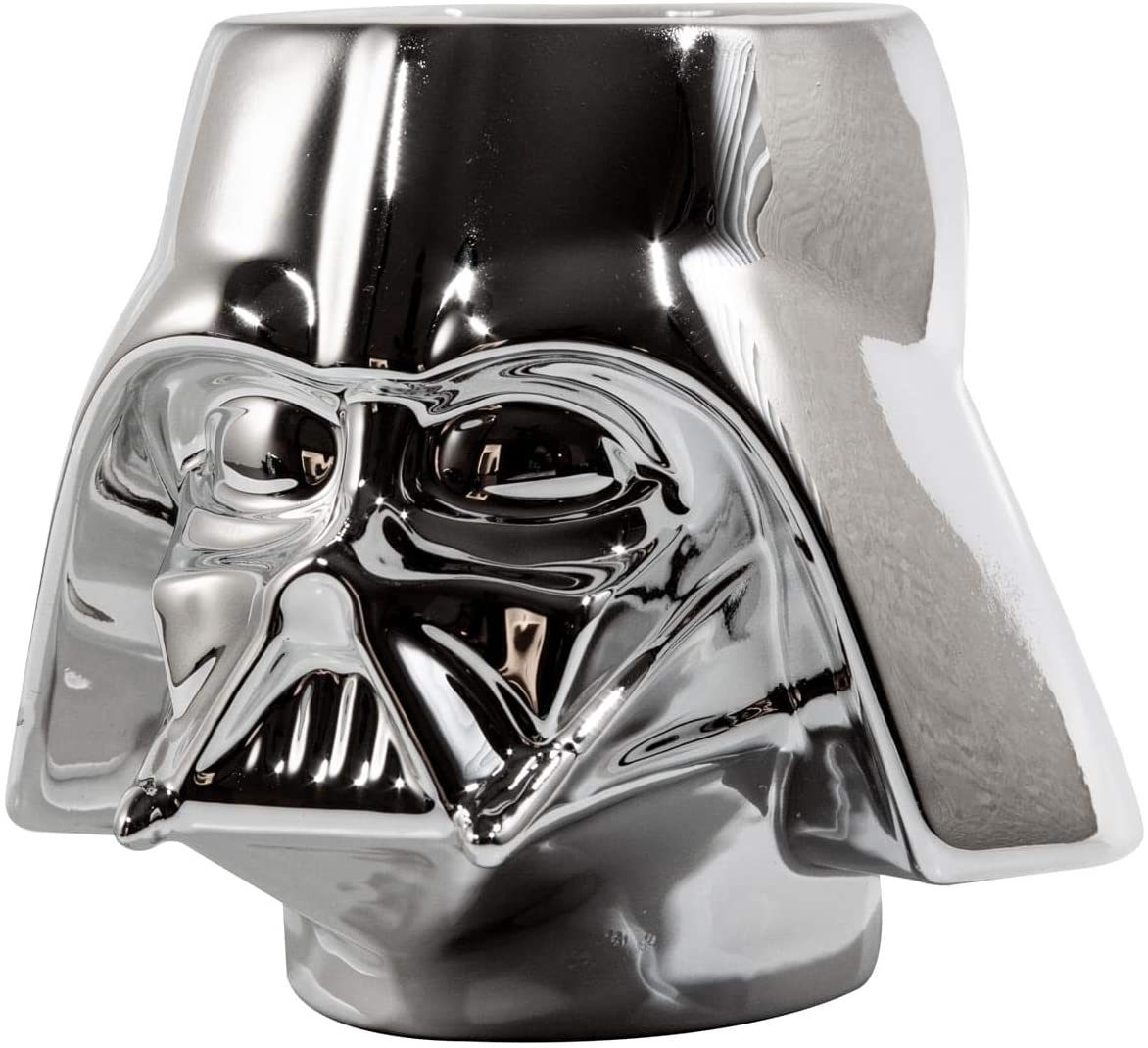 Star Wars Collectible | Star Wars Darth Vader Mug | Chrome Molded Mug