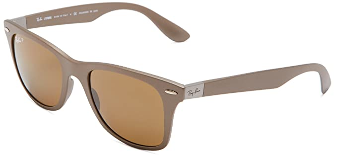 Ray-Ban - Gafas de sol Wayfarer 0rb4195 RB4195, Brown (603383 603383 ...