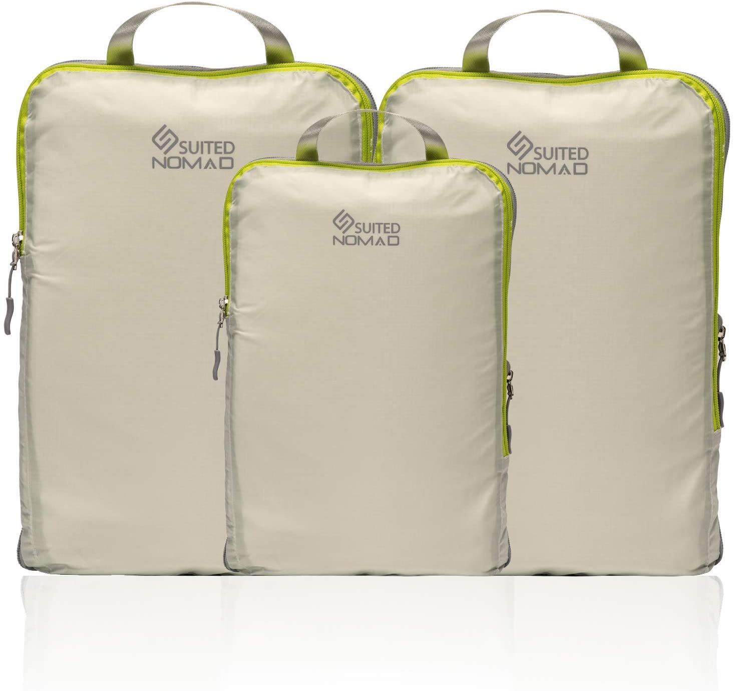SUITEDNOMAD Compression Packing Cubes Set