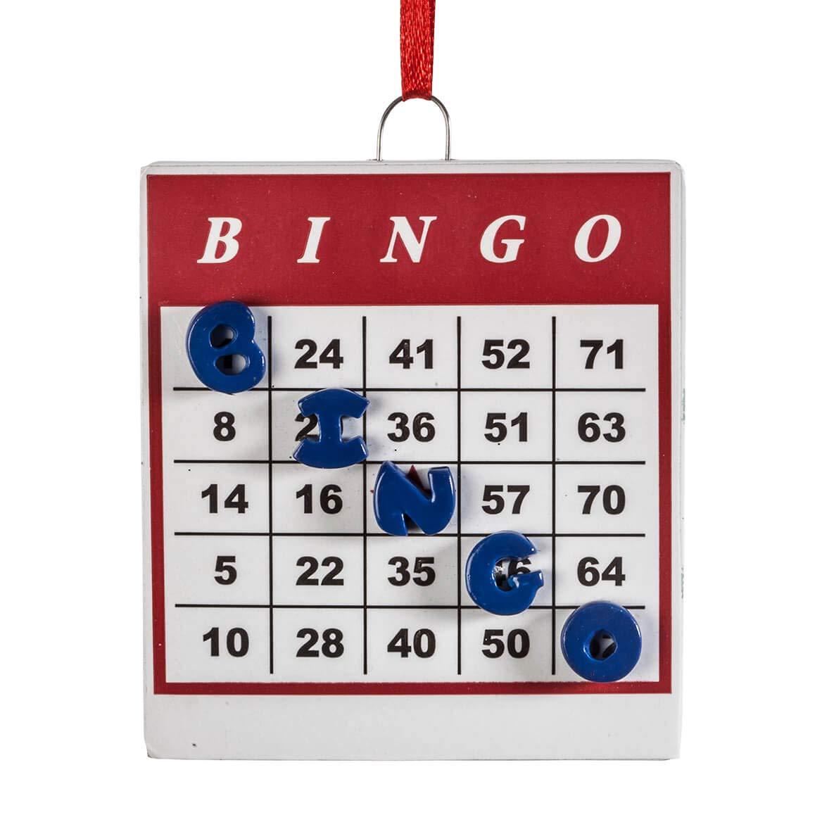 Miles Kimball Bingo Ornament by Miles Kimball