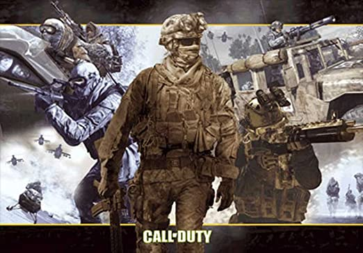 A4 A3 A2 Available Call Of Duty Modern Warfare  Poster   A5