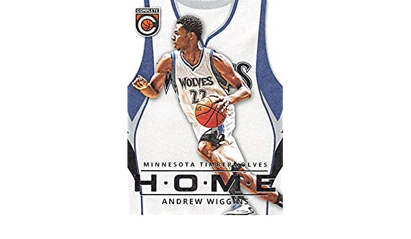 44274e7791d Andrew Wiggins Basketball Card (Minnesota Timberwolves) 2015 Panini  Complete HOME  33 at Amazon s Sports Collectibles Store