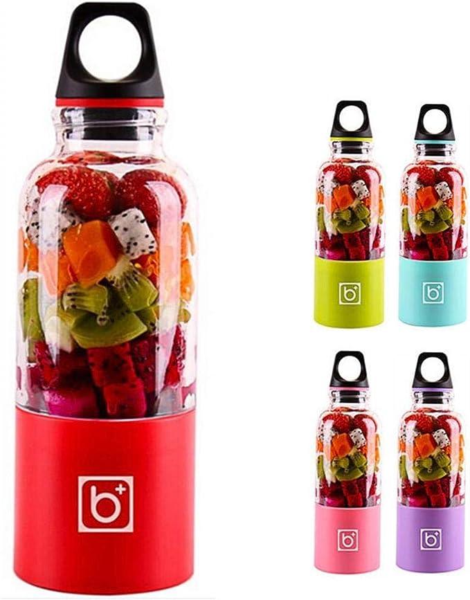 JINZHAO Portable Blender,4 Blades Portable Blender juicer Machine ...