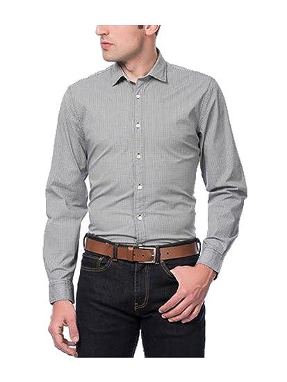 Dockers - Camisa - Hombre - Color: Azul (M): Amazon.es: Ropa y ...