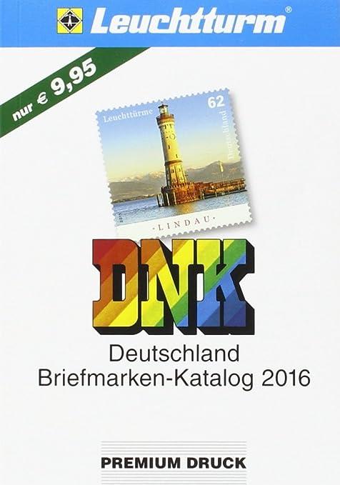 Dnk Deutschland Briefmarkenkatalog 2016 Amazonde Spielzeug