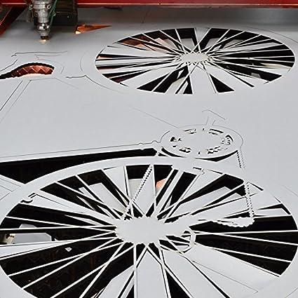 6mm HDF einseitig wei/ß grundiert Platte 100x100 cm