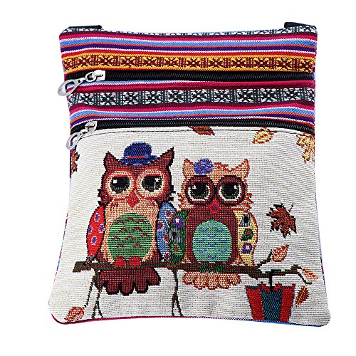 2018 Cheap Canvas Handbags for Girls Mini Owl Bags for Women - Shipping International Time