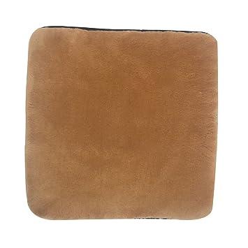Amazon.com: Sigmat - Cojín cuadrado de felpa para silla con ...