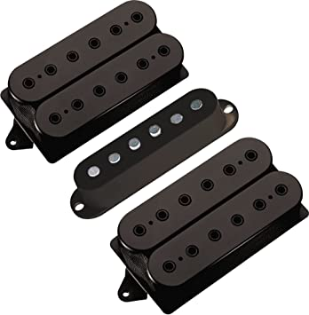Amazon.com: DiMarzio Steve Vai Evolution Humbucker Set Black ...