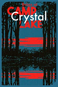 Relax at Camp Crystal Lake Retro Movie Travel Vintage Style Minimalist Horror Movie Cool Wall Decor Art Print Poster 24x36