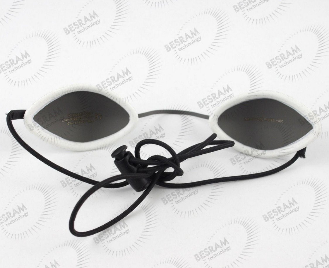 Laserland Stainless Steel Eyepatch Eyewear Glasses Laser Protection Safety Goggles IPL Treatment Od7+ Beauty