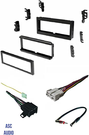 Amazon.com: ASC Audio Car Stereo Install Dash Kit, Wire Harness ... car stereo wire connectors Amazon.com
