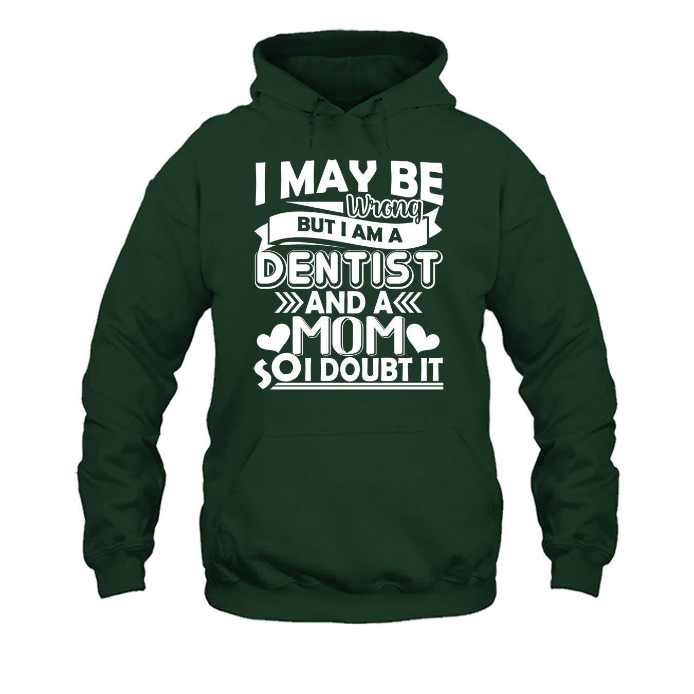 Short Sleeve Shirts Im A Dentist and A Mom Tee Shirt