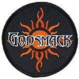 Godsmack - Unisex-adult Sun Patch Black