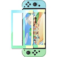 UGREEN Switch Screen Protector for Nintendo Switch Tempered Glass Screen Animal Crossing Color Border with Transparent…