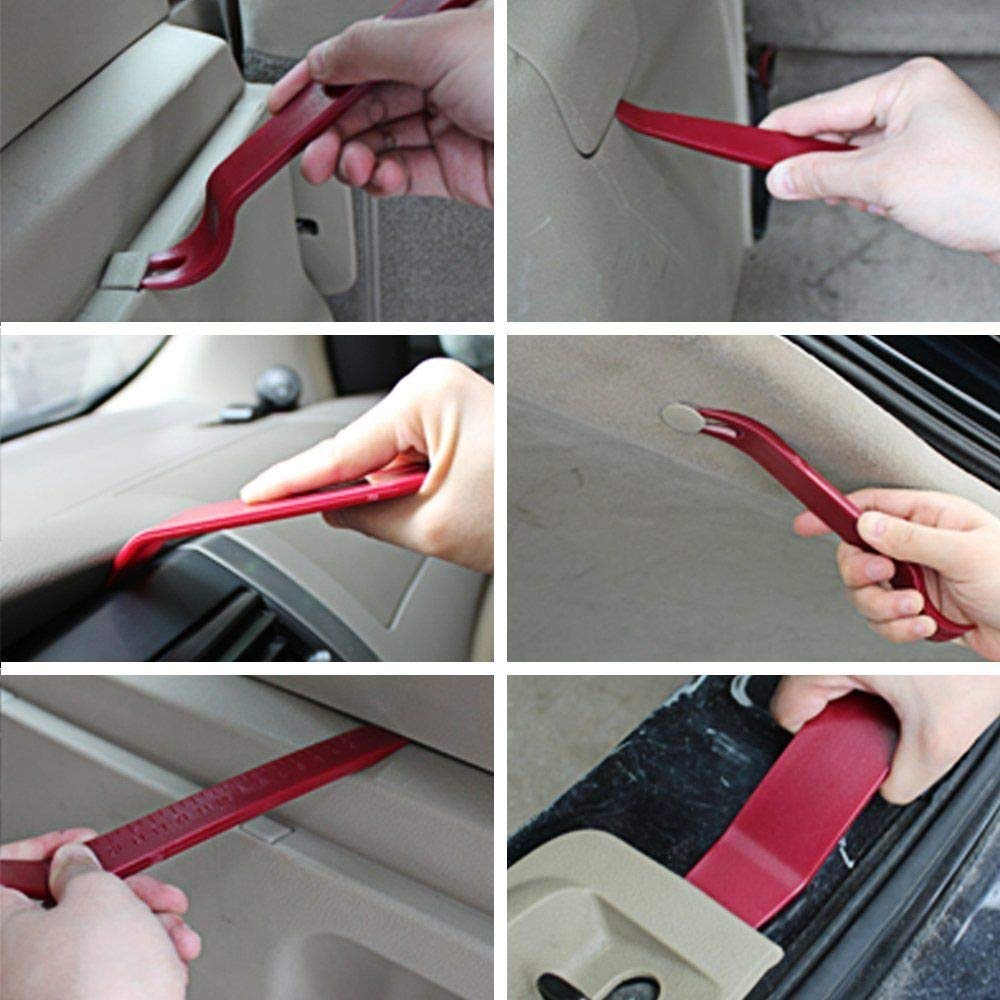 CHEEFULL Car Disassembly Repair Tools Auto Stereo Refit Trim Removal Kits Interior Panel Dashboard Installation Removal Tools Kit (22) by CHEEFULL (Image #5)