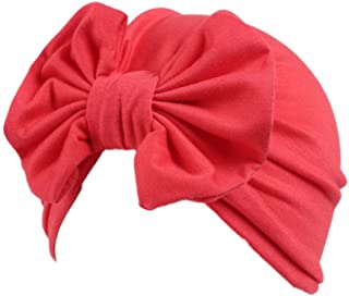 Hotsellhome New Fashion Children Baby Girls Boho Hat Beanie Scarf Turban Head Wrap Cap for 3-8 Years Old