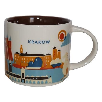 Starbucks City Mug You Are Here Collection Krakow Krakow