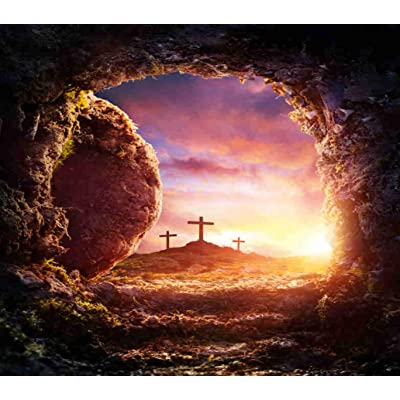 Jigsaw Puzzle 300 Pieces Puzzles for Kids Crucifixion and Resurrection of Wooden Large Puzzle DIY Puzzle Adult Classic Games A for Friend Or Family 15x20 Inch: Toys & Games