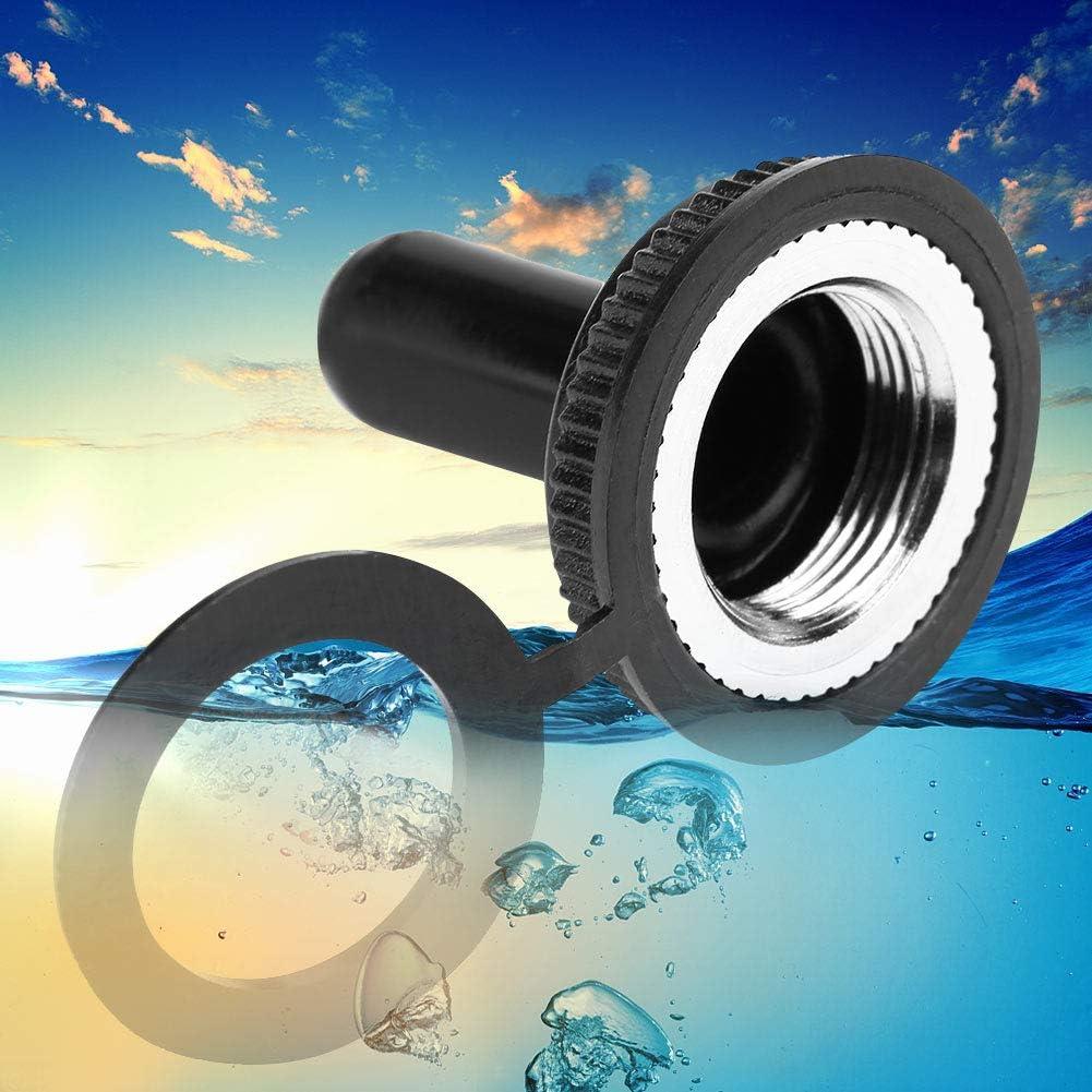 Aexit 5pcs 12mm Gewindedurchmesser Wasserdichte Kippschalter Gummi-Abdeckkappe Dichtung 98bce02b740cbc463b28c3884f453e1b