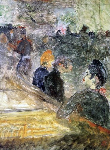Henri De Toulouse-Lautrec Ball at the Moulin de la Galette - 21.05