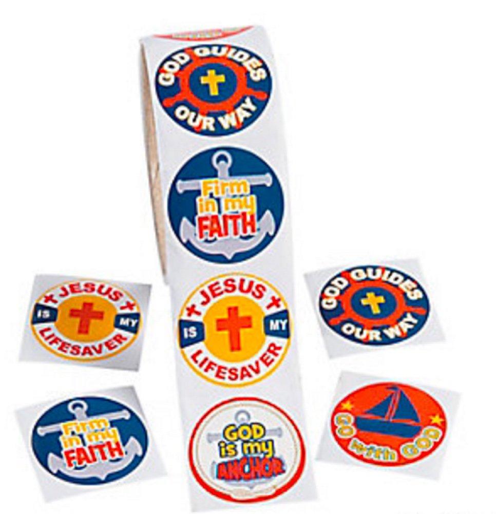 200 Stickers FX Religious Nautical Stickers