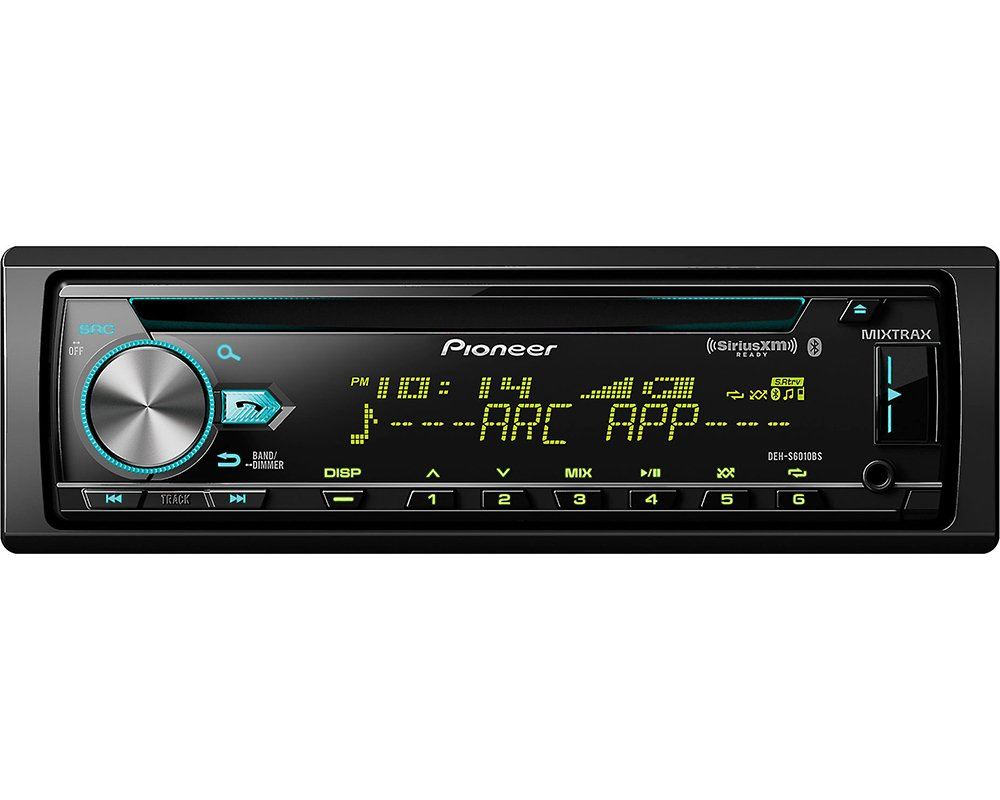 Pioneer Deh S6010bs Cd Receiver With Built In Bluetooth Car Stereo Wiring Harness Wire Gauge Usb Aux Input Siriusxm Ready Electronics