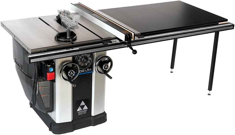 best cabinet table saw: Delta 36-L552 5 HP Unisaw